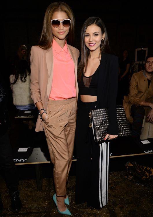 Zendaya Coleman and Victoria Justice