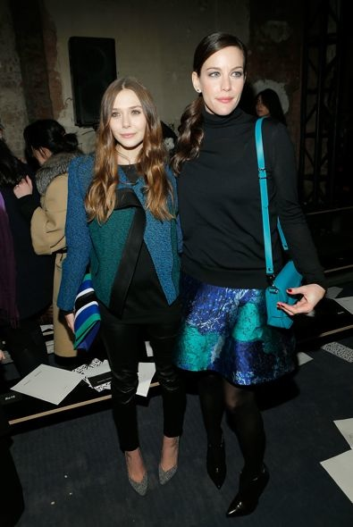 Elizabeth Olsen and Liv Tyler