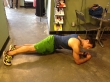 Plank Hold with Hip Rock: Step 2