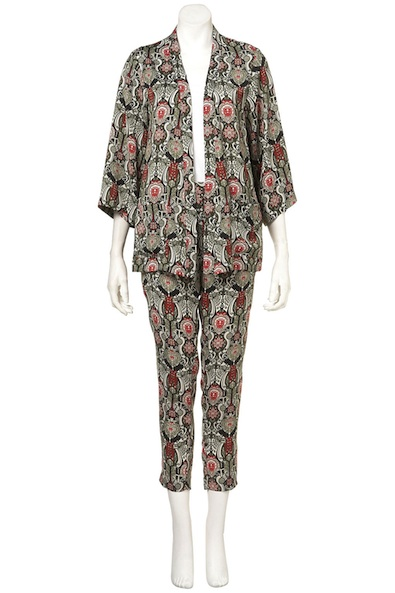 Topshop China Medallion Print Pyjama