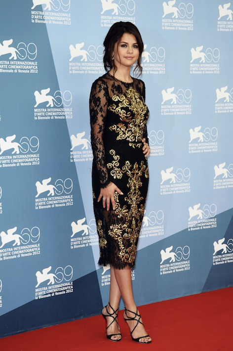 Selena Gomez at the Venice Film Festival