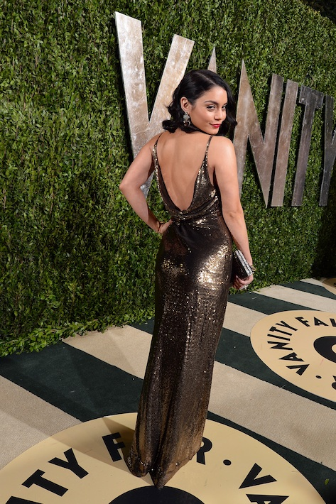 Vanessa Hudgens at the Vanity Fair Oscars Party