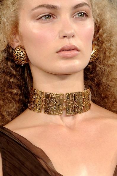 Oscar de la Renta's Gold Bijoux