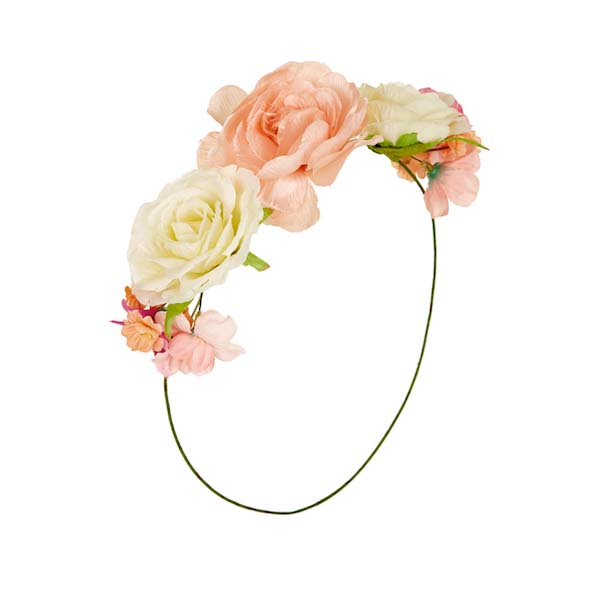 Easy Floral Crown