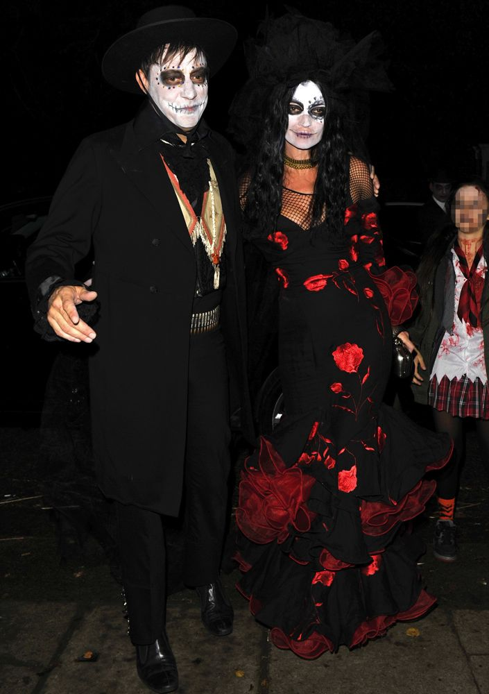 Kate Moss at Jonathan Ross' 2013 Halloween Party