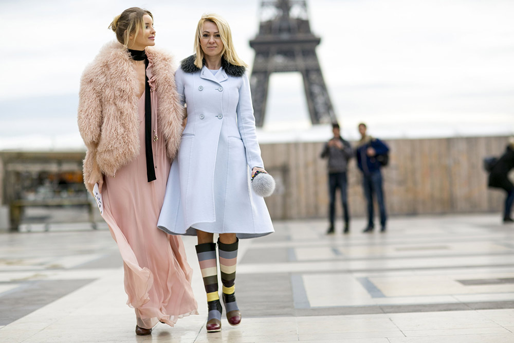 Haute Couture Spring 2016 Street Style
