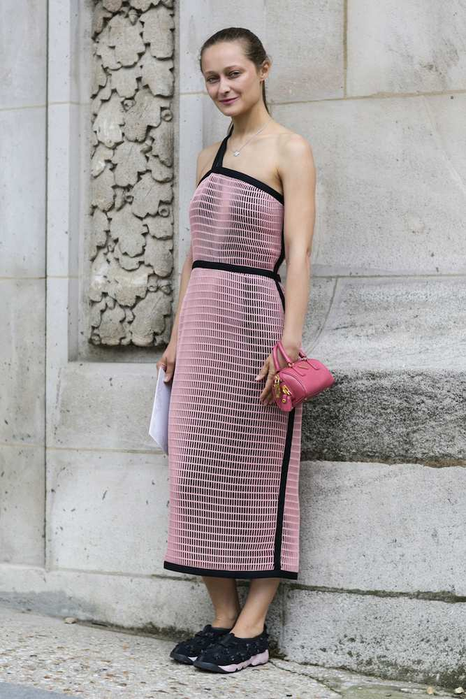 Haute Couture Fall 2014 Street Style