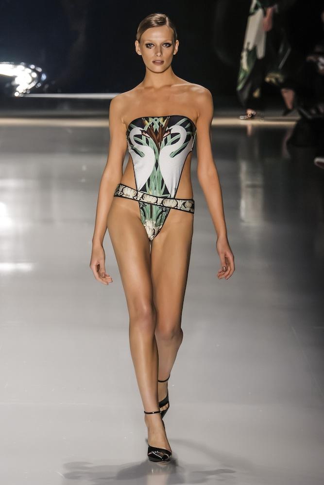 Brazilian swimwear fashion show