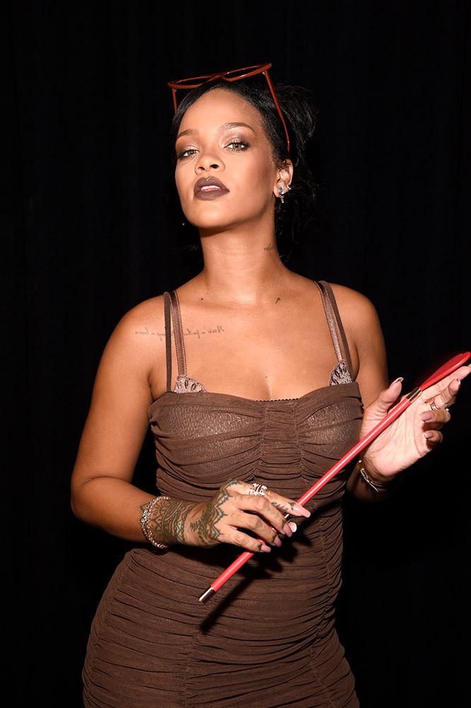 Rihanna at Savage x Fenty Fall 2018