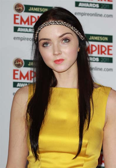 Lily Cole's Headband Style