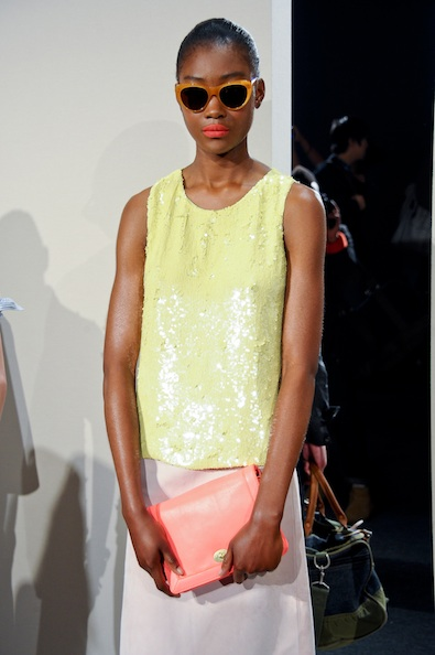 J.Crew's Yellow Sequins