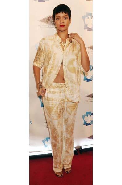 Rihanna's Pajama Party