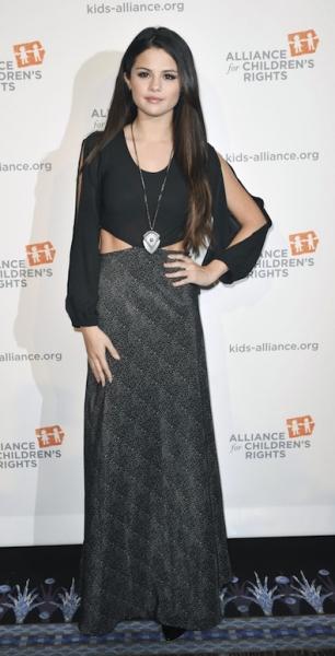 Selena Gomez's Witchy Look