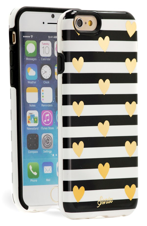 Sonix Heart Stripe Case