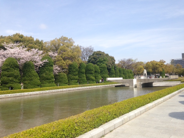 Peace Memorial Park's Eternal Flame