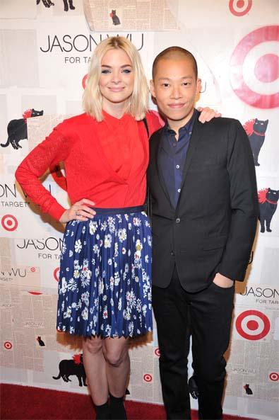 Jaime King with Jason Wu