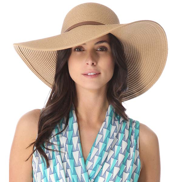 Big Straw Vintage Hat