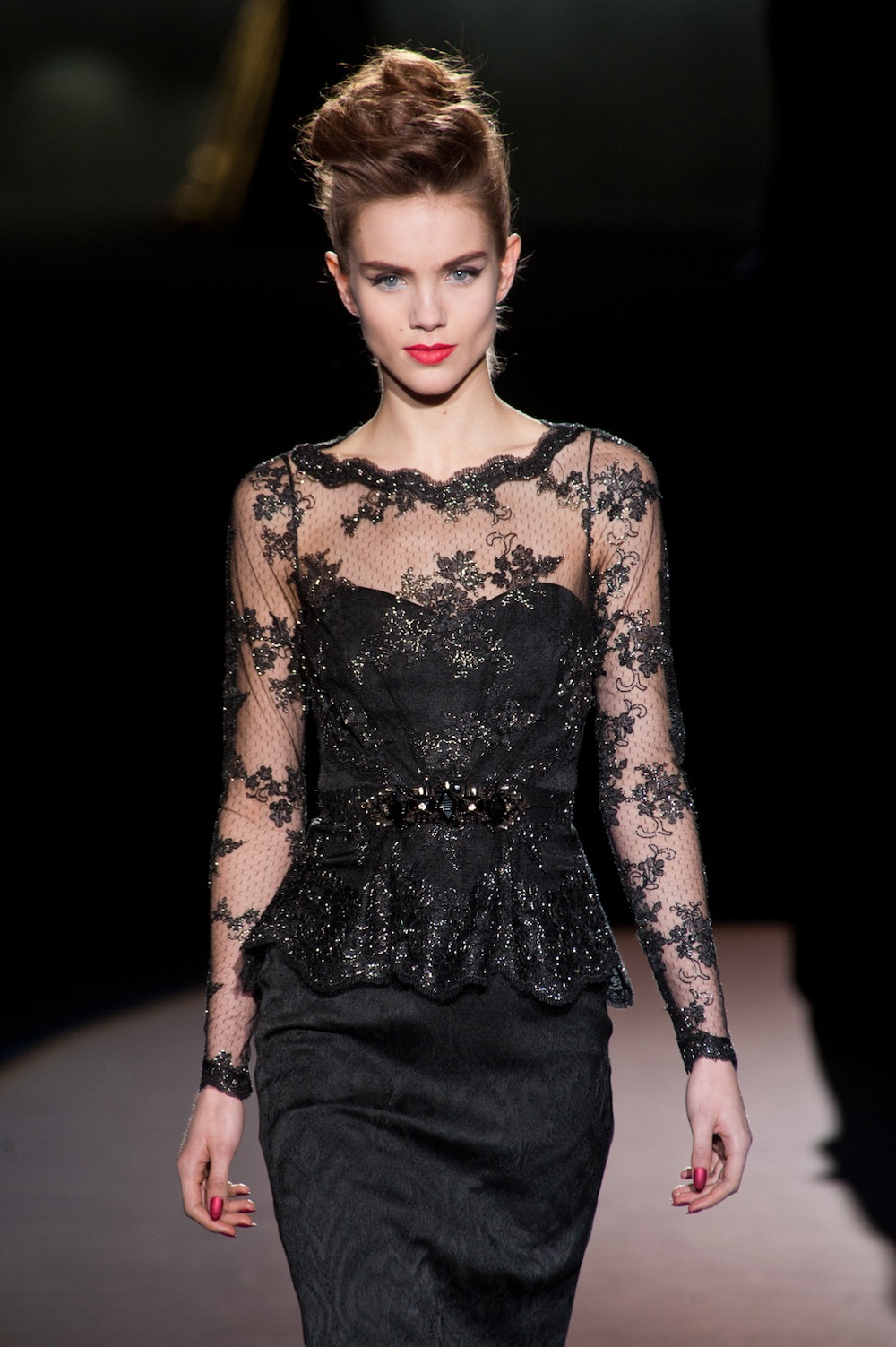 Shimmering Lace at Badgley Mischka