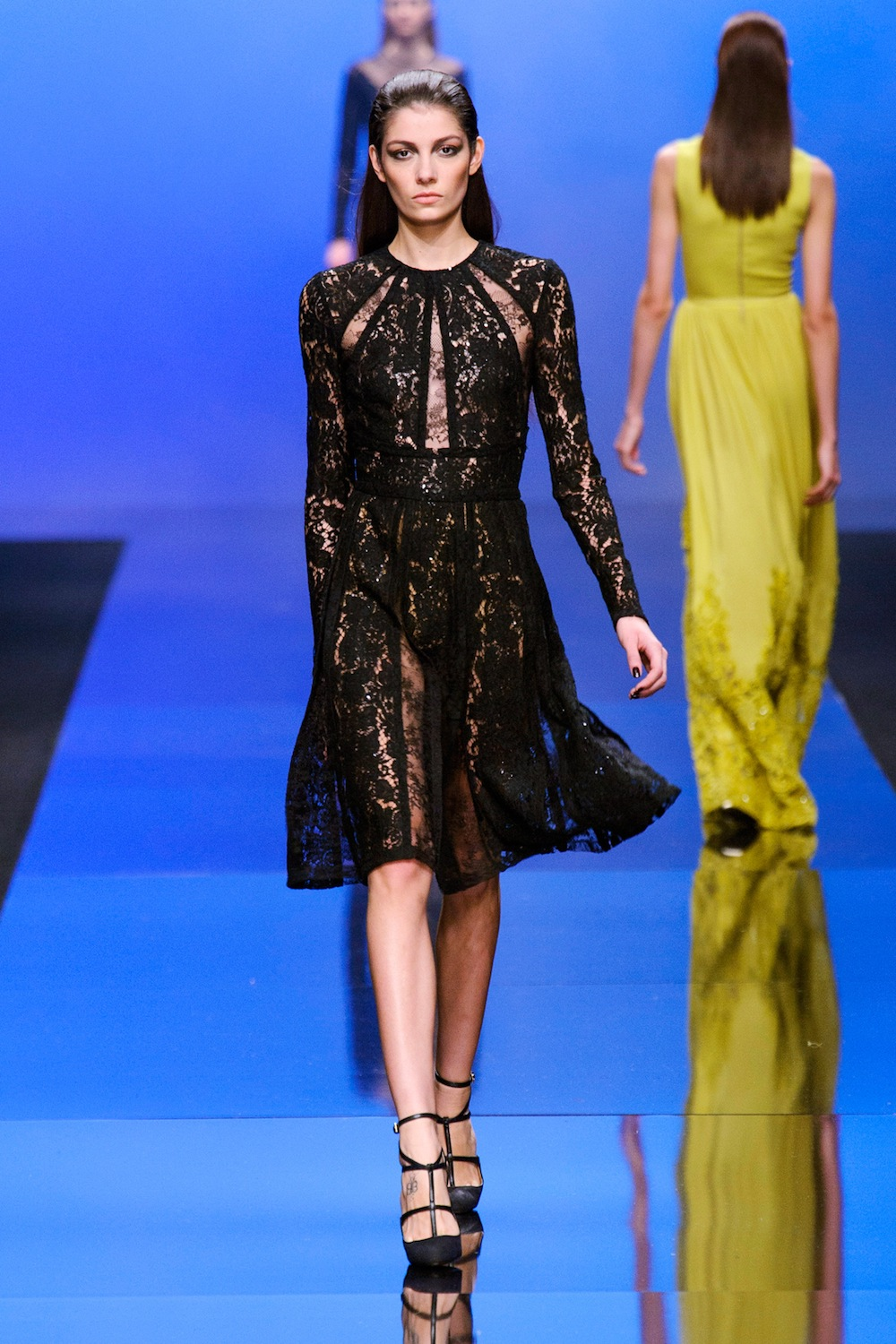 Lace LBD at Elie Saab