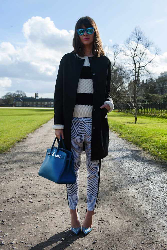 London Fashion Week Street Style Fall 2015