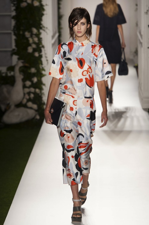 Emma Hill's Swan Song for Mulberry