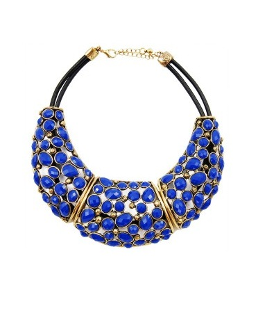 Chelsea Doll Statement Necklace
