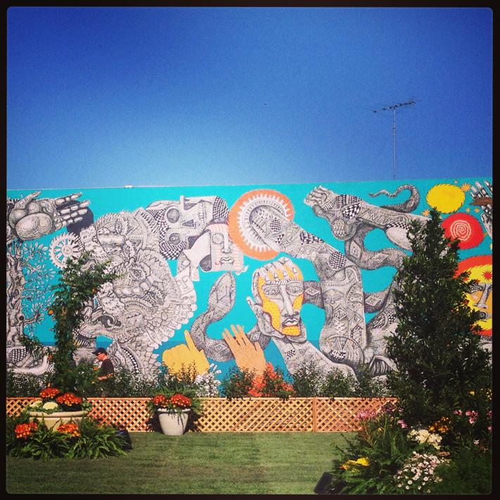 Wall mural by Zio Ziegler