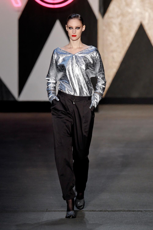 Silver Shirt at Jen Kao