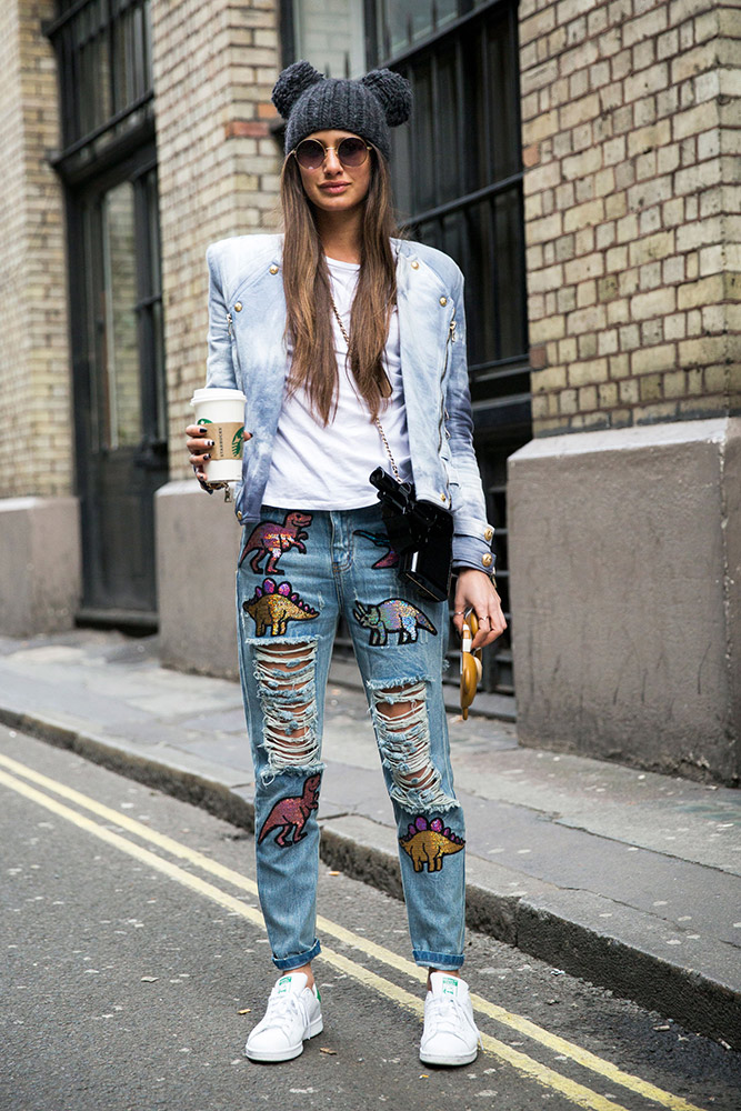 All the best street style looks from london fashion week fall 2016