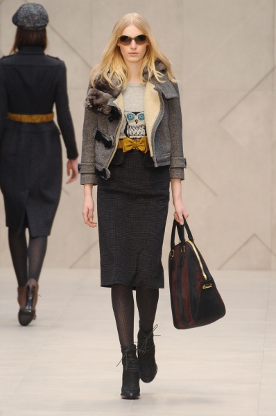 Burberry Prorsum Fall 2012