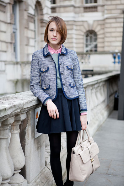 Ella Catliff, fashion blogger La Petite Anglaise