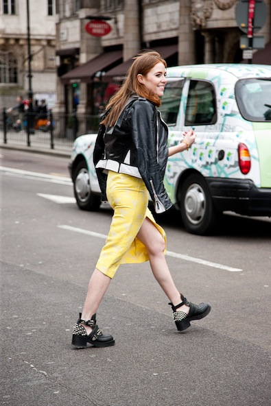 The fashionable street cross