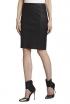 BCBGMAXAZRIA Leah Leather Pencil Skirt