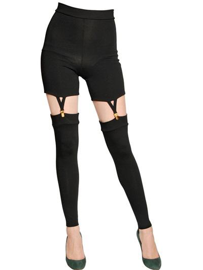 Murmur Jersey With Suspenders Clip Leggings, $218