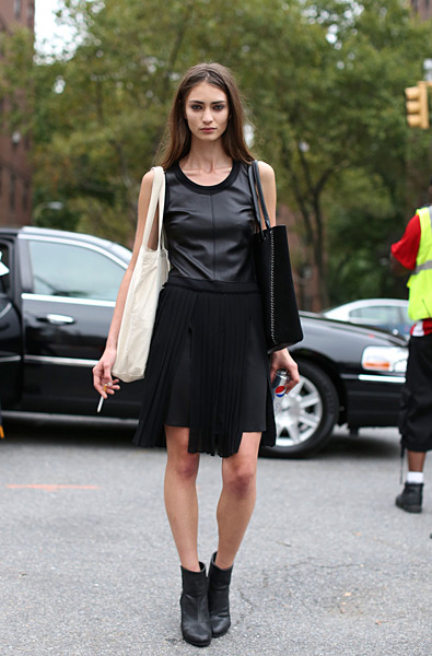 On the Streets, Day 1 of NYFW
