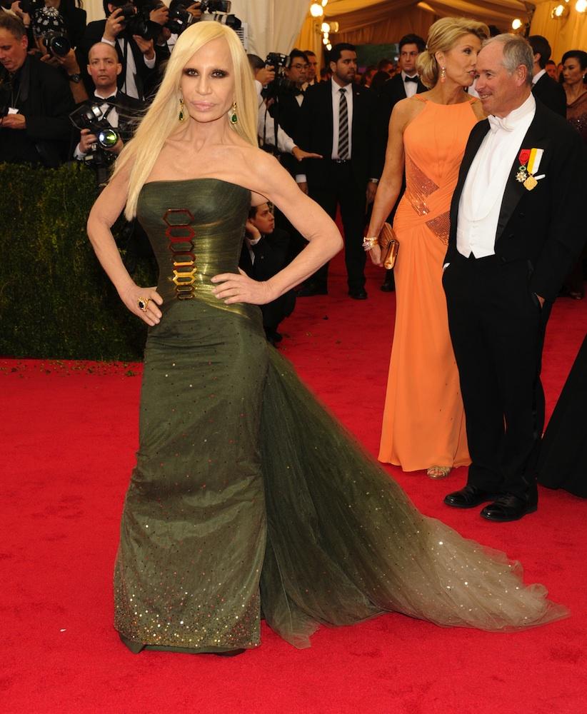 Donatella Versace in Verscae