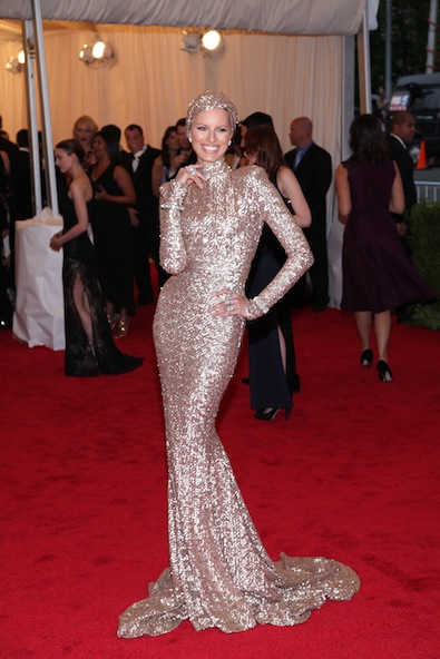 Karolina Kurkova in Rachel Zoe Collection