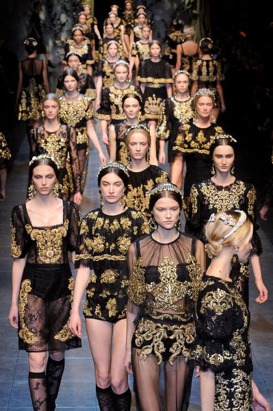 Dolce & Gabbana Fall 2012