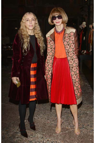 Franca Sozzani &amp; Anna Wintour