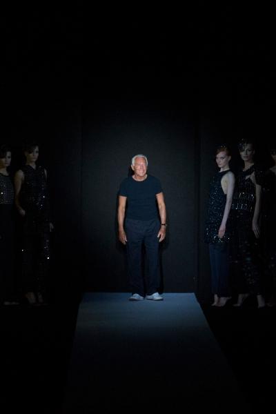 Giorgio Armani S/S 2013