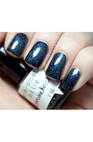 Blue and Glittery