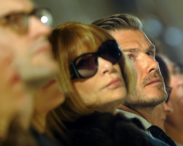 Wintour and Beckham