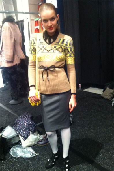 My look for Charlotte Ronson