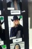 My look for Nicholas K, love the hat!