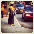 Yellow Sneakers with a Fitted Yellow Top