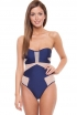 Suboo Navy Mesh One Piece
