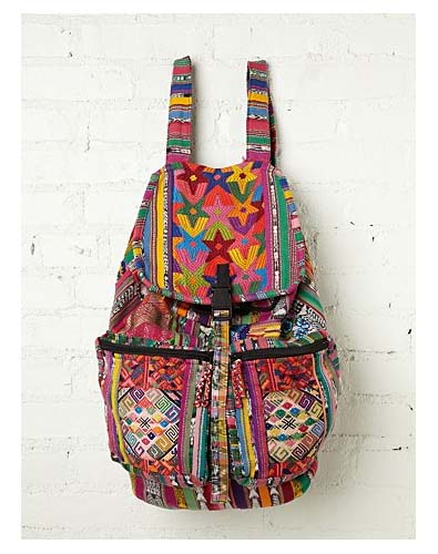 Hippie Chic Knapsack