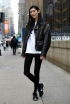 NYFW Fall 2014 Model Street Style: Best Outerwear