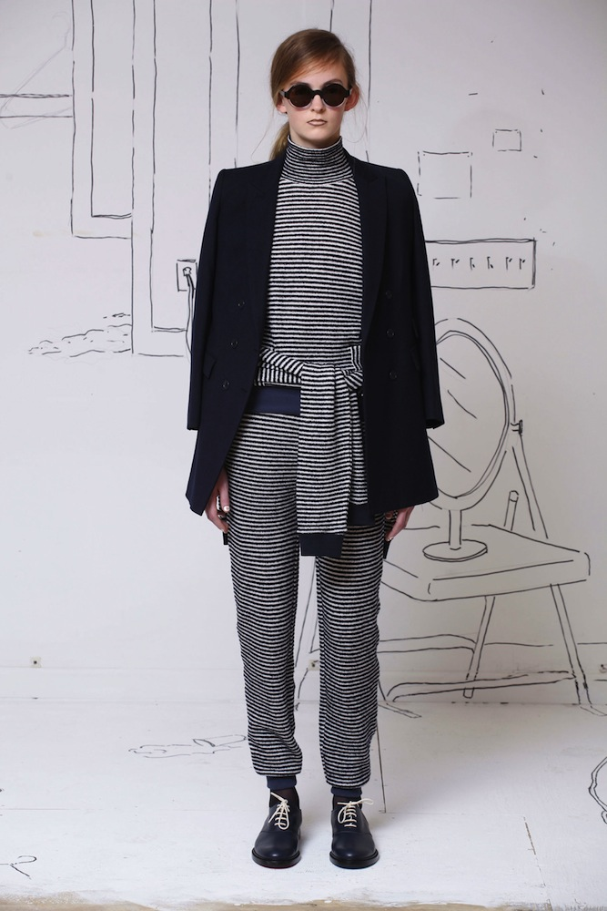 Sweater Belt Style: Band of Outsiders