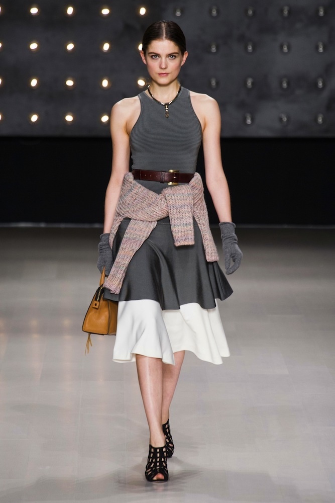 Sweater Belt Style: Milly by Michelle Smith